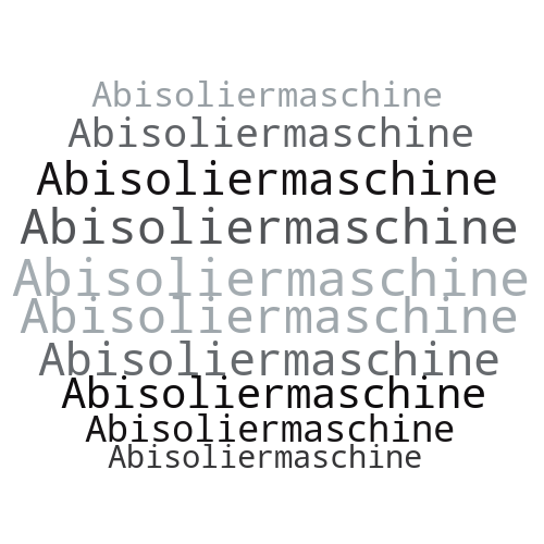 Abisoliermaschine