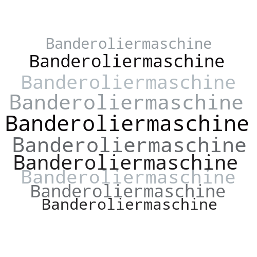 Banderoliermaschine