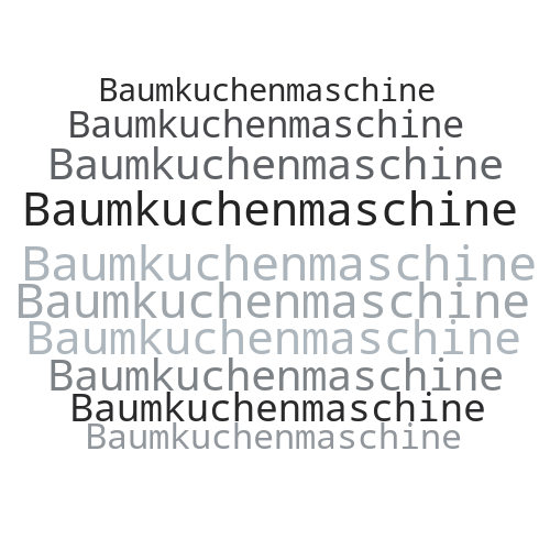 Baumkuchenmaschine