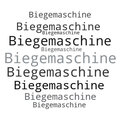 Biegemaschine