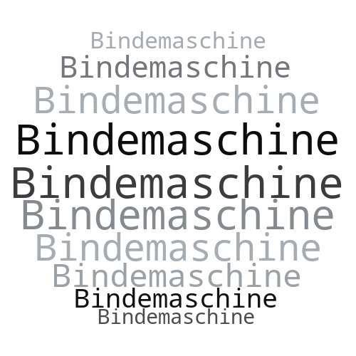 Bindemaschine