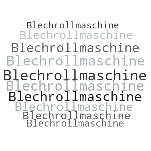 Blechrollmaschine