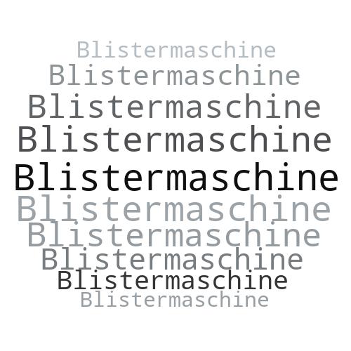 Blistermaschine