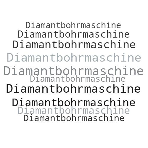 Diamantbohrmaschine