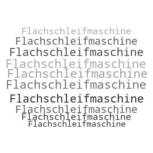 Flachschleifmaschine