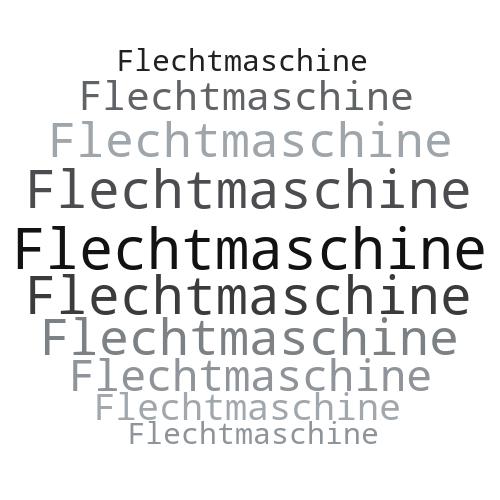 Flechtmaschine