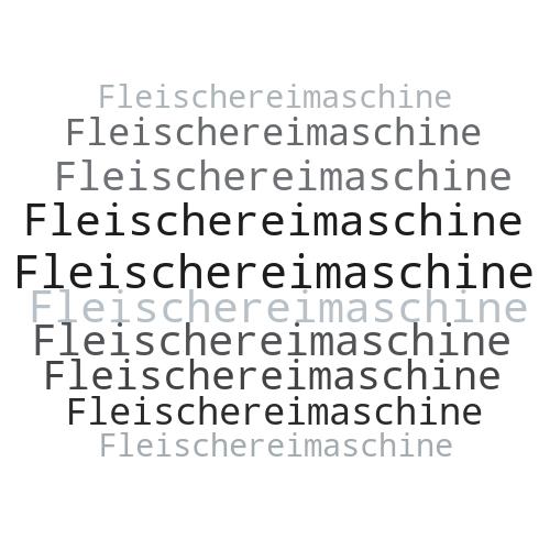 Fleischereimaschine