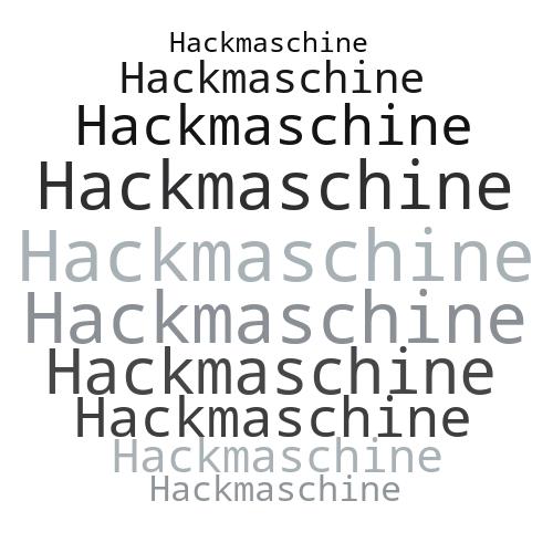 Hackmaschine