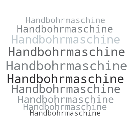 Handbohrmaschine