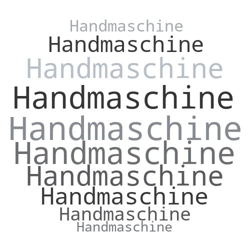 Handmaschine