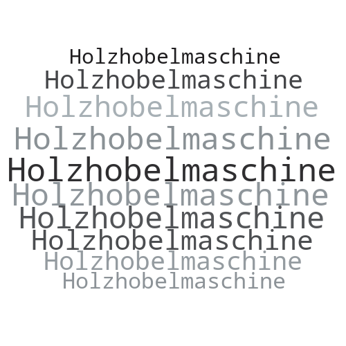 Holzhobelmaschine