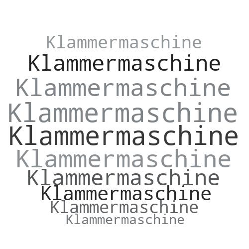 Klammermaschine