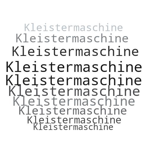 Kleistermaschine