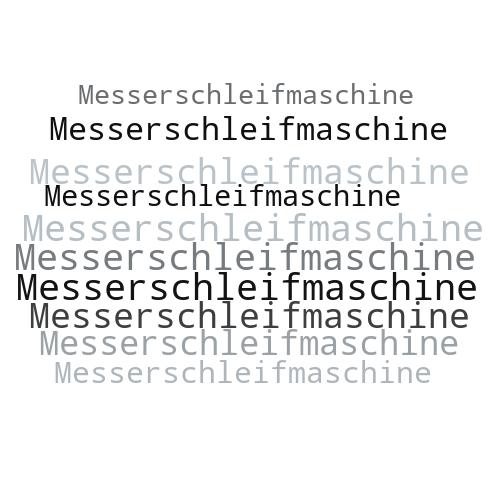 Messerschleifmaschine