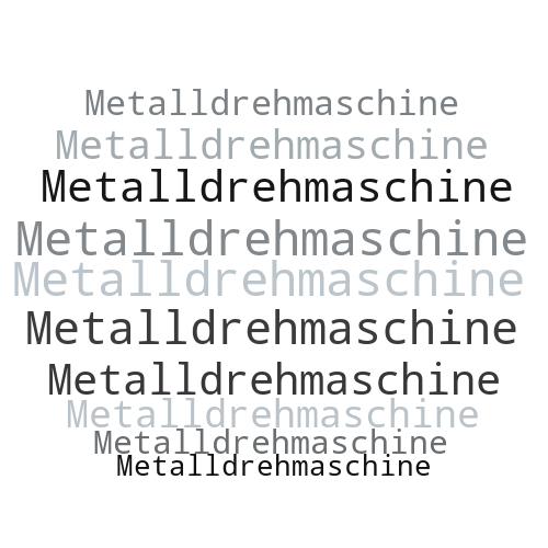 Metalldrehmaschine