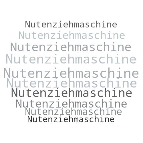 Nutenziehmaschine