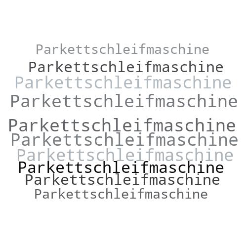Parkettschleifmaschine