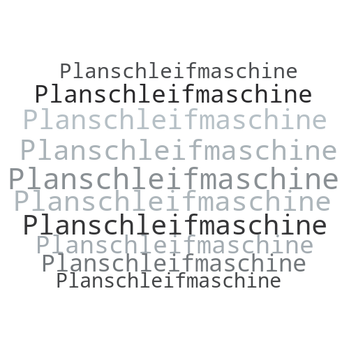 Planschleifmaschine