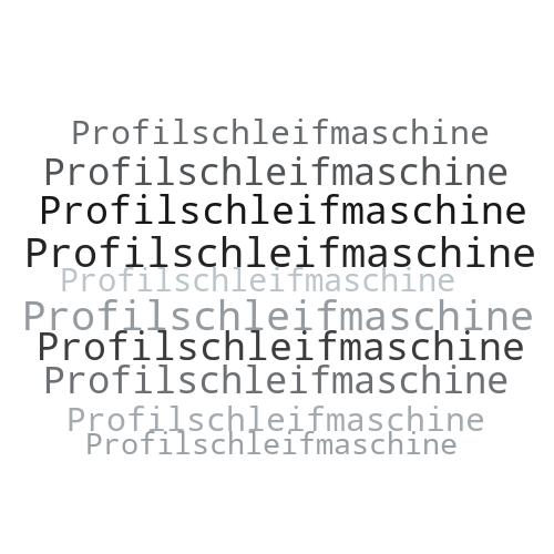 Profilschleifmaschine