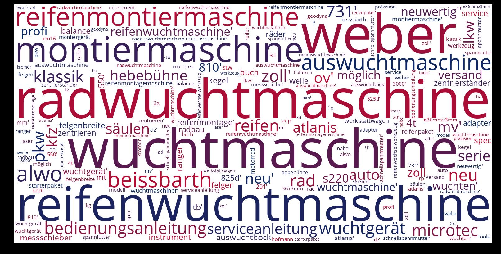 Radwuchtmaschine-wordcloud