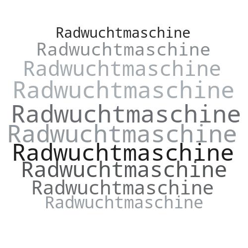 Radwuchtmaschine