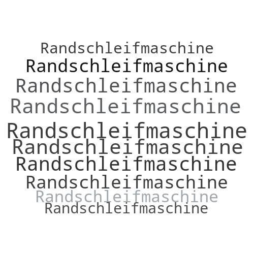 Randschleifmaschine