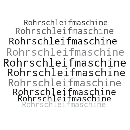 Rohrschleifmaschine