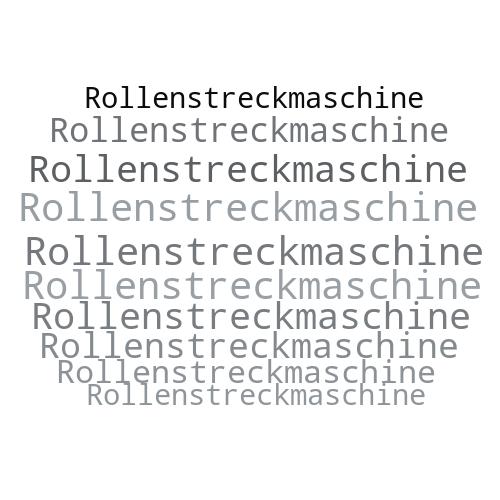 Rollenstreckmaschine