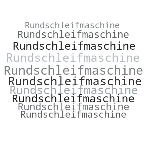 Rundschleifmaschine
