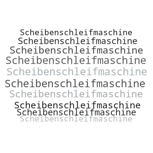 Scheibenschleifmaschine