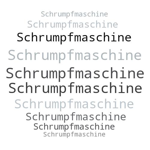 Schrumpfmaschine