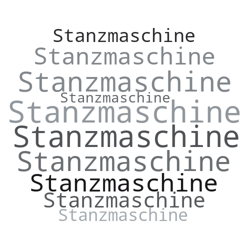 Stanzmaschine