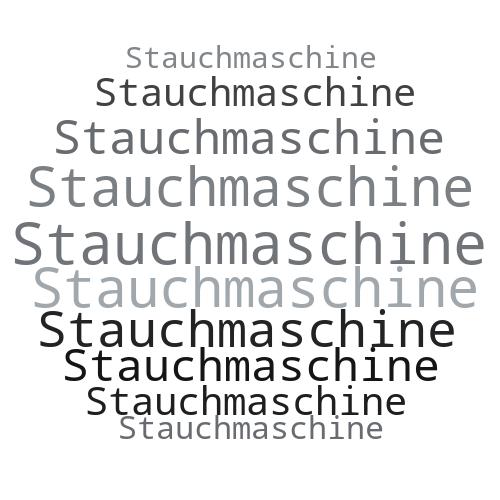 Stauchmaschine