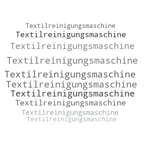 Textilreinigungsmaschine