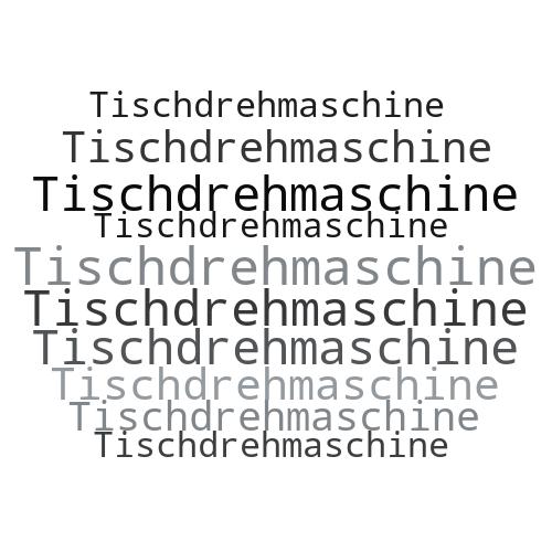 Tischdrehmaschine