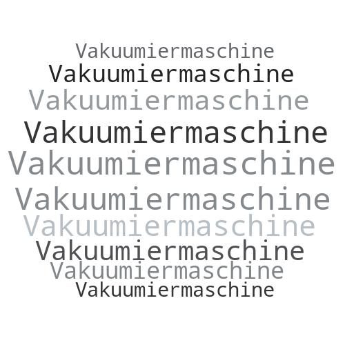 Vakuumiermaschine