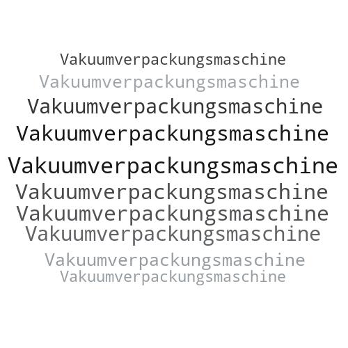 Vakuumverpackungsmaschine