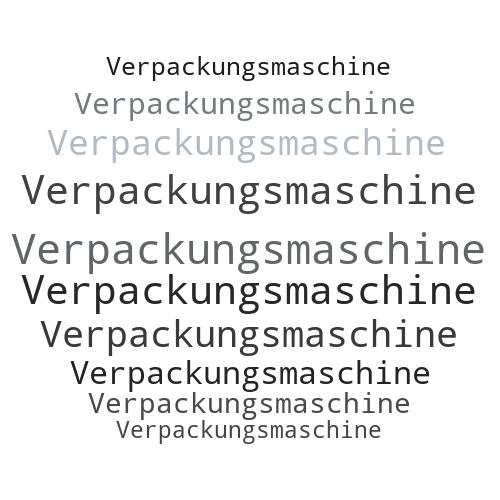 Verpackungsmaschine