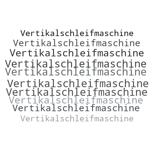 Vertikalschleifmaschine