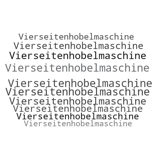 Vierseitenhobelmaschine