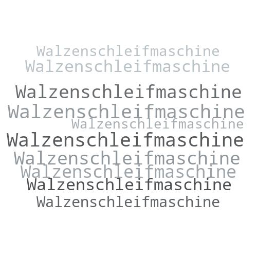 Walzenschleifmaschine